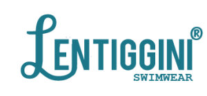 logo Lentiggini swimwear